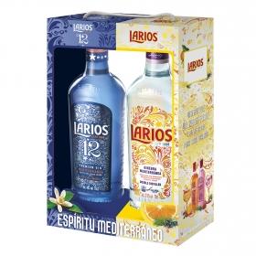 Ginebra Larios + Ginebra Larios 12 premium pack 2x70 cl.