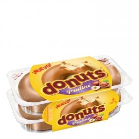 Berlina Praliné Donuts pack de 4 unidades de 224 g.