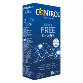 Preservativos látex Free Control 5 ud.