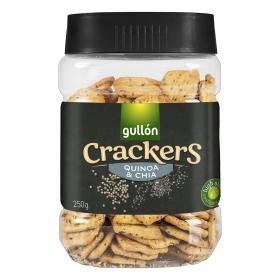 Crackers con quinoa y chía Gullón 250 g.