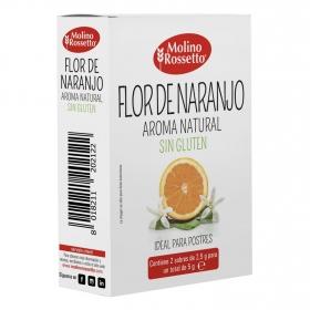 Aroma de flor de naranjo Molino Rossetto sin gluten 5 g.