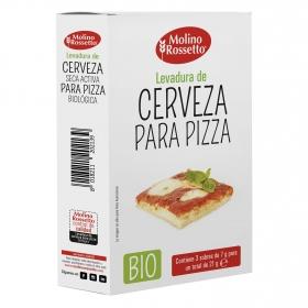 Levadura de cerveza para pizza ecológica Molino Rossetto 21 g.