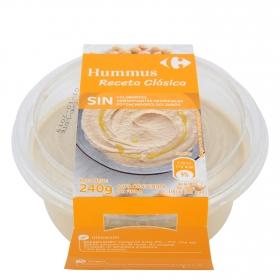 Hummus receta clásica Carrefour 240 g.