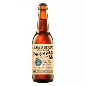 Cerveza Estrella Galicia con percebes botella 50 cl.
