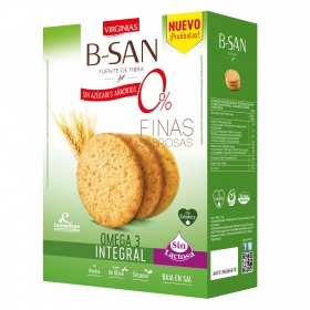 Galletas integrales omega 3 B-SAN