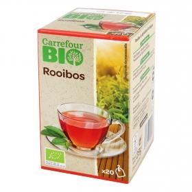 Té Rooibos en bolsitas ecológico Carrefour Bio 20 ud.