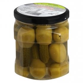 Aceitunas gordal con pepino