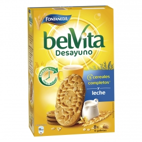 Galleta leche Belvita