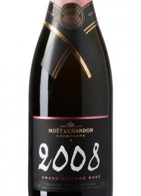 Moët & Chandon Grand Vintage Rosé Champán rosado 2008