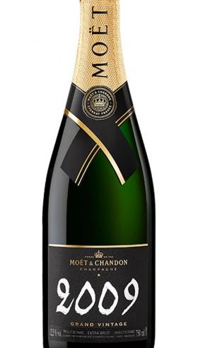 Moët & Chandon Grand Vintage Champán 2009