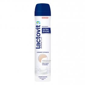 Desodorante en spray con proteínas de leche Lactovit 200 ml.