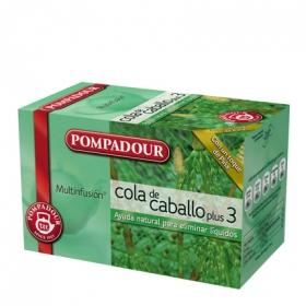 Cola de caballo en bolistas Pompadour 20 ud.