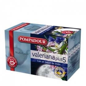 Valeriana con limón en bolsitas Pompadour 20 ud.