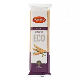 Espaguetis integrales ecológicos Romero 500 g.
