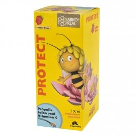 Jarabe Protec sabor fresa Arkoreal Arkopharma 150 ml.
