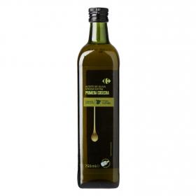 Aceite de oliva virgen extra Carrefour 750 ml.