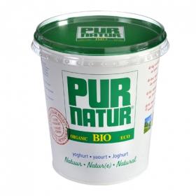 Yogur bio natural plástico