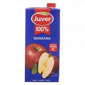 Zumo de manzana Juver brik 1 l.