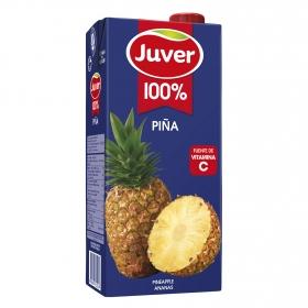 Zumo de piña Juver brik 1 l.