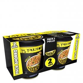 Yatekomo Yakisoba pollo