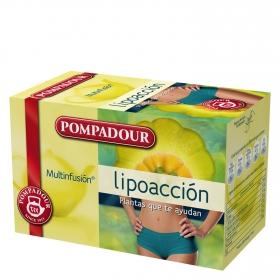 Infusión lipoacción en bolsitas Pompadour 20 ud.