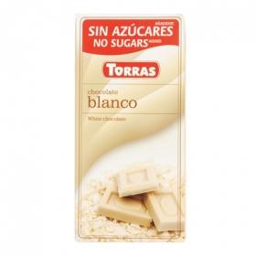 Chocolate blanco sin azúcar - Sin Gluten