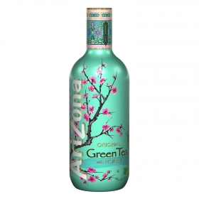 Refresco de té verde Arizona con miel botella