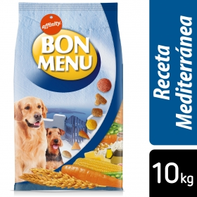 Alimento Seco para Perro Bon Menú Adulto Receta Mediterránea 10 Kg