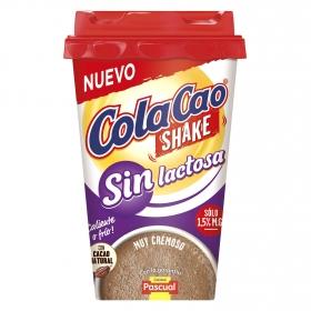 Batido de cacao sin lactosa