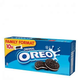 Galletas de chocolate rellenas de crema Oreo 440 g.