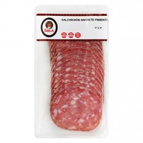 Salchichón extra a la pimienta loncheado Anchete Solá 150 g
