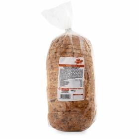 Pan de payés 6 cereales c/semillas de calabaza 490 g