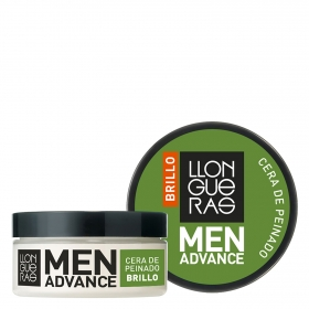 Cera de peinado Brillo Llongueras Advance 85 ml.