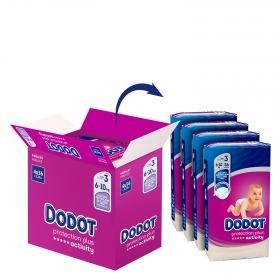 Pañales T3 (6-10 kg.) Dodot Activity 224 ud.