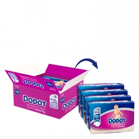 Pañales T5 (11-16 kg.) Dodot Activity 168 ud.