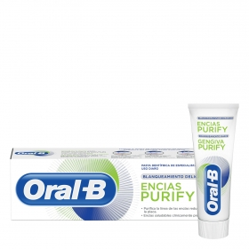 Dentífrico blanqueamiento total Encías Porify Oral-B 75 ml.