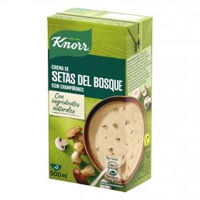 Crema de setas del bosque con champiñones Knorr 500 ml.