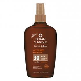 Aceite solar zanahoria FP 30 Ecran 200 ml.