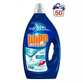 Detergente líquido limpio y liso