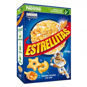 Cereales integrales con miel Estrellitas Nestlé 450 g.