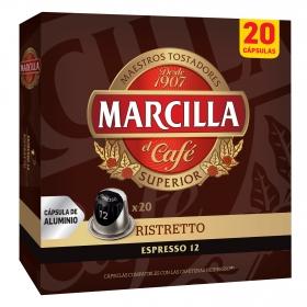 Café ristretto en cápsulas compatible con Nespresso