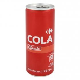Refresco de cola Carrefour classic lata 25 cl.