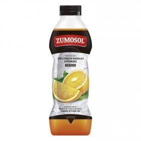 Zumo naranja con pulpa botella