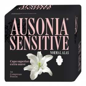 Compresa con alas Sensitive
