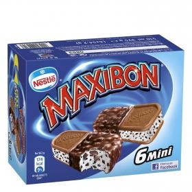 Mini sandwich Maxibon Nestlé Helados 6 ud.