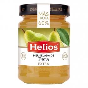 Mermelada de pera categoría extra Helios sin gluten 340 g.