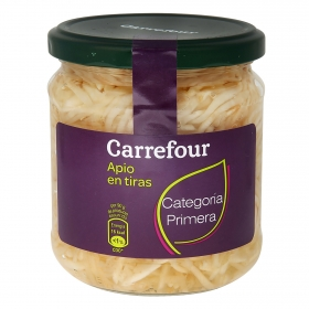 Apio rallado al natural Carrefour 180 g.
