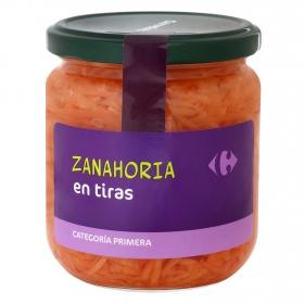 Zanahoria rallada Carrefour 180 g.