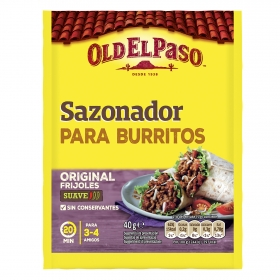 Sazonador para burritos Old El Paso 45 g.