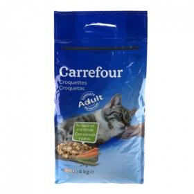Croquetas para Gato Carne, Carrefour